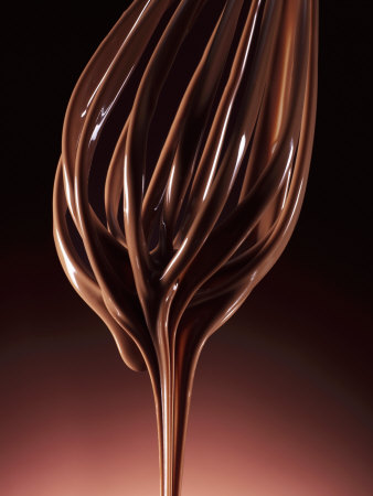 Melted Chocolate Running from a Whisk Photographic Print by Armin Zogbaum