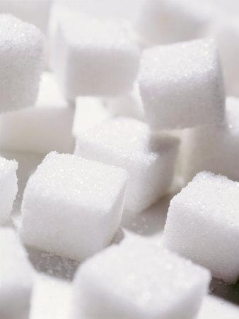 White Sugar Lumps Photographic Print by Jörg Nissen
