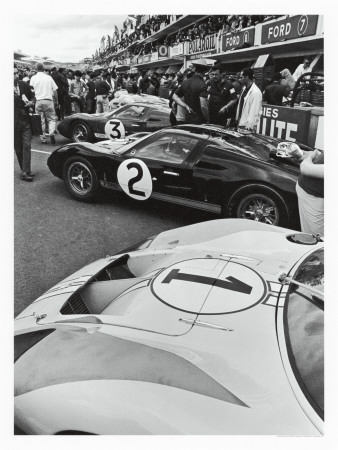1966 LeMans Giclee Print