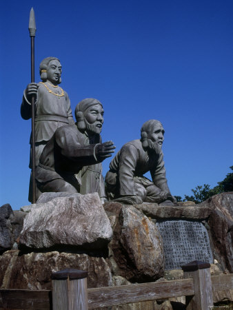 Statues of Shinto Gods Photographic Print at AllPosters.