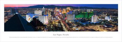 Las Vegas, Nevada Posters by James Blakeway