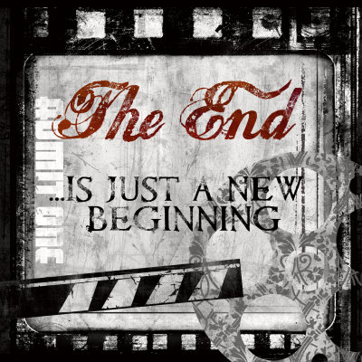 The End Mounted Print by Conrad Knutsen