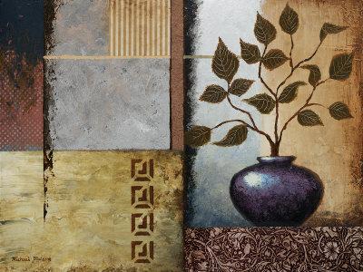 Plum Vase Prints by Michael Marcon
