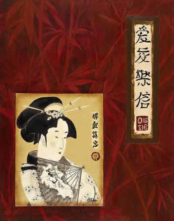 Geisha I Poster by Patricia Quintero-Pinto