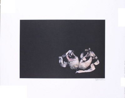 Ballet Slippers Collectable Print
