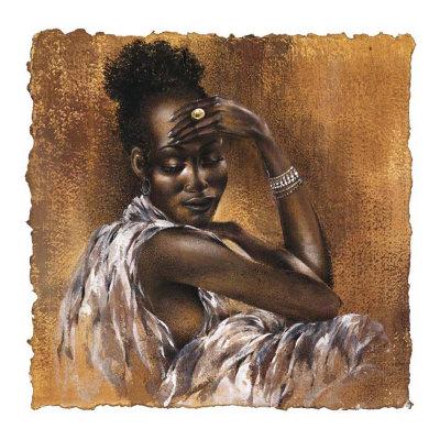 Ebony I Posters by Ben Mogador