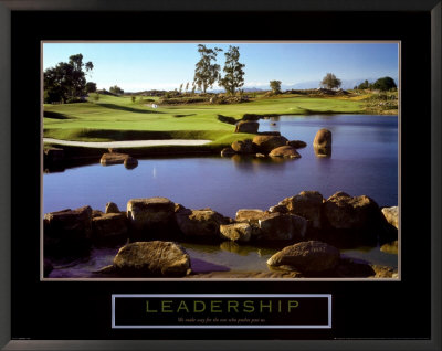 Leadership: Golf Posters