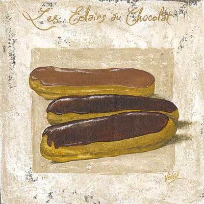 Les Eclairs au Chocolat Prints by Véronique Didier-Laurent