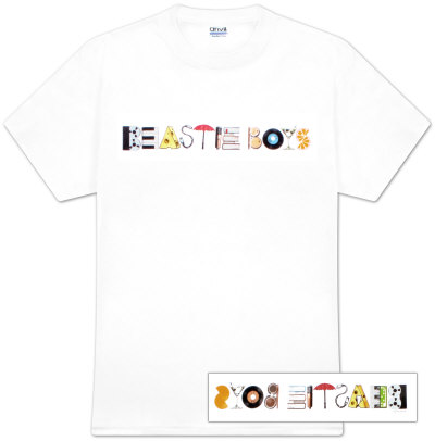 The Beastie Boys - Album Logo T-Shirt