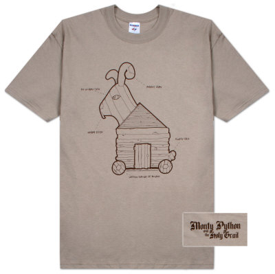 Monty Python - Rabbit Plans T-Shirt