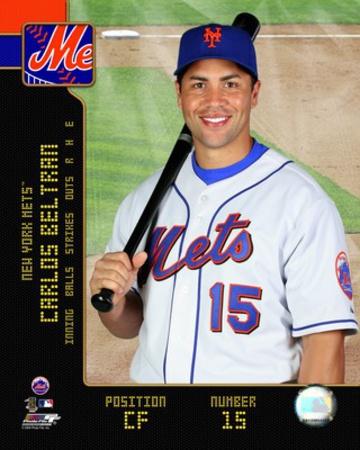 MLB: Carlos Beltran 2008 Studio Photo