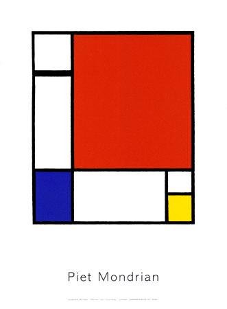 sans titre Serigraph by Piet Mondrian