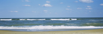 Waves in the Sea, Cape Hatteras, Outer Banks, North Carolina, USA Photographic Print by  Panoramic Images
