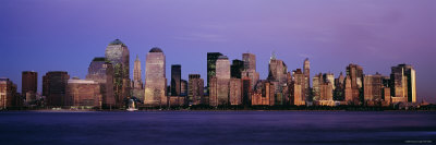 Buildings at the Waterfront, Manhattan, New York City, New York, USA Photographic Print by  Panoramic Images