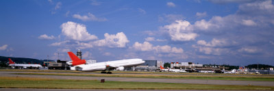 Airplane Taking Off, Zurich Airport, Kloten, Zurich, Switzerland Photographie