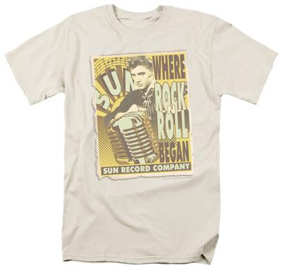 Sun Studios - Rock -N- Roll Poster Shirt