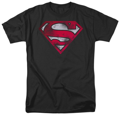 Superman - War Torn Shield Shirt