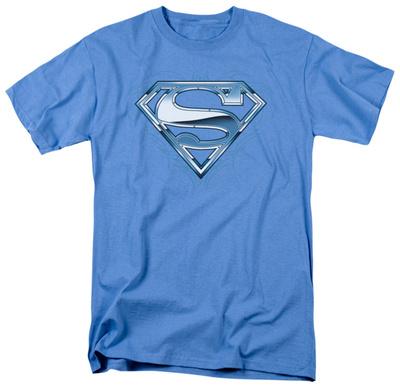Superman - Tribal Chrome Shield Shirts