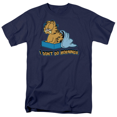 Garfield - I Don't Do Mornings T-Shirt