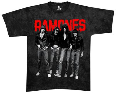 The Ramones - Ramones Debut Album T-Shirt