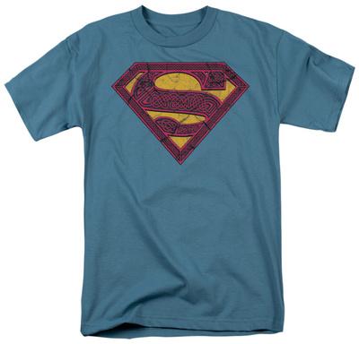 Superman - Celtic Shield T-Shirt