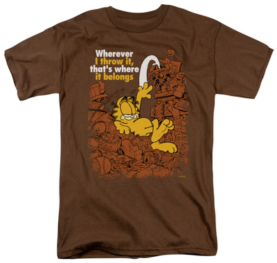 Garfield - Where It Belongs Shirt
