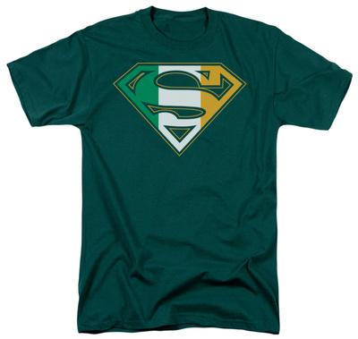 Superman - Irish Shield T-Shirt