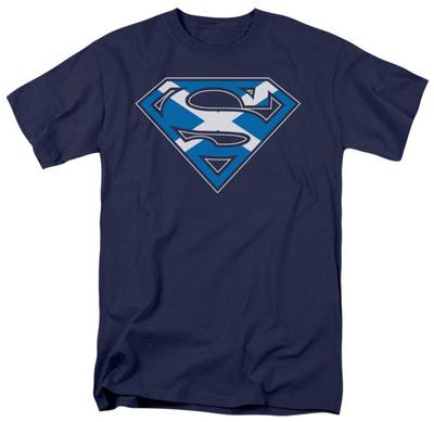 Superman - Scottish Shield Shirt