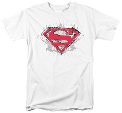 Superman - Hastily Drawn Shield Shirts