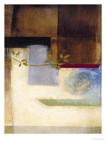 Golden Branch, no. 1 Print by Chris Stone