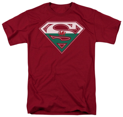Superman - Welsh Shield Shirt
