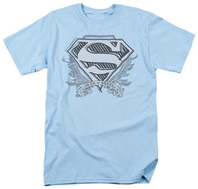 Superman - Sketchy Crest Shield T-Shirt