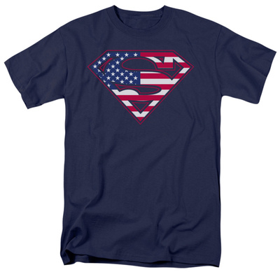 Superman - U.S. Shield T-Shirt