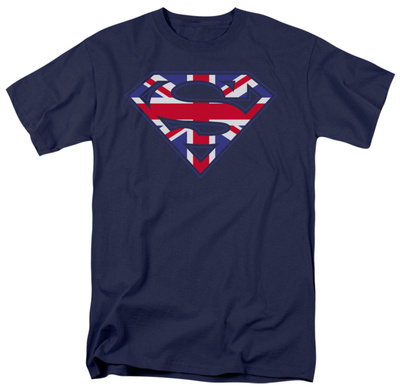 Superman - Great Britain Shield Shirts