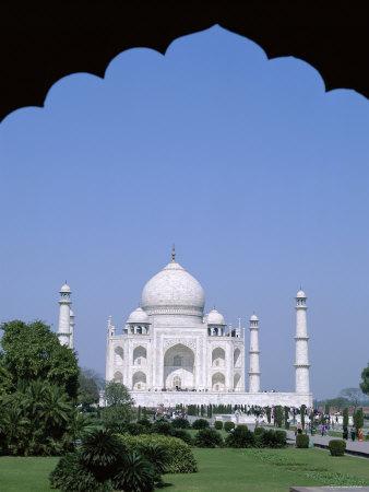 Taj Mahal, Agra, Uttar Pradesh, India Photographic Print by Steve Vidler