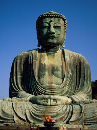 Great Buddha, Kamakura, Honshu, Japan Photographic Print by Steve Vidler