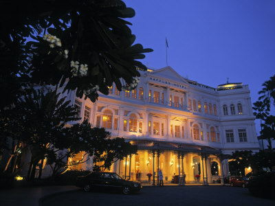 Raffles Hotel Singapore Pictures on Raffles Hotel  Singapore Photographic Print By Rex Butcher