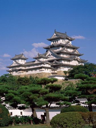 Himeji Castle, Main Tower, Himeji, Honshu, Japan Photographic Print by Steve Vidler