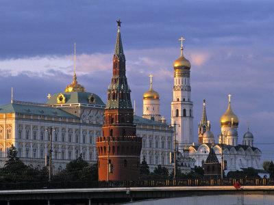 El Kremlin, Moscú (Rusia) Lámina fotográfica