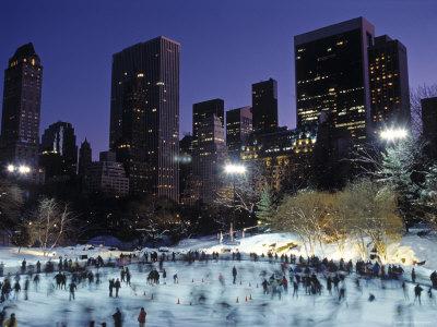 Central Park, New York City, Ny, USA Photographic Print by Walter Bibikow