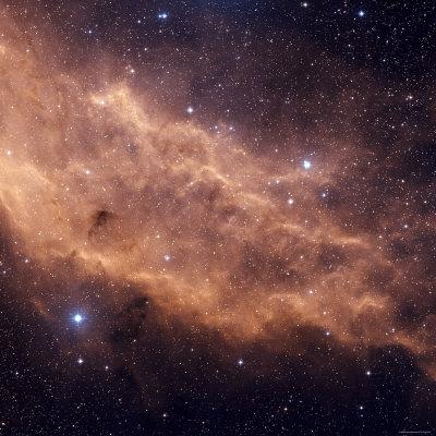 California Nebula Photographic Print by  Stocktrek Images