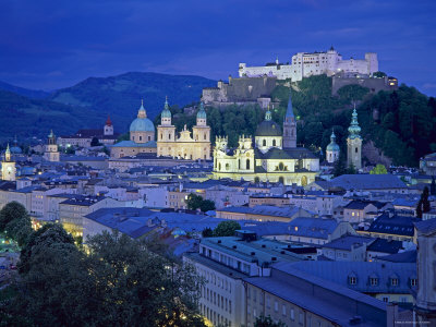 View over Salzburg, Austria Photographic Print by Gavin Hellier