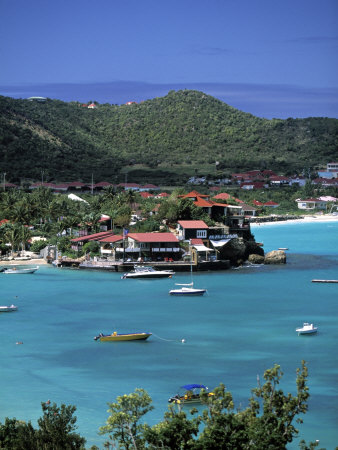 Eden Roc Hotel, St. Jean, St. Barts, French West Indes Photographic Print by Walter Bibikow