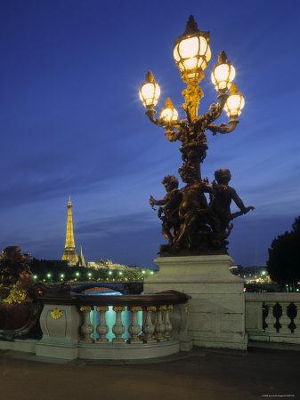 Pont Alexandra III, Paris, France Photographic Print by Jon Arnold