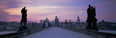Charles Bridge, Prague, Czech Republic Fotografie-Druck