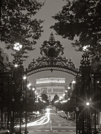 Arc de Triomphe, Paris, France Photographic Print by Peter Adams