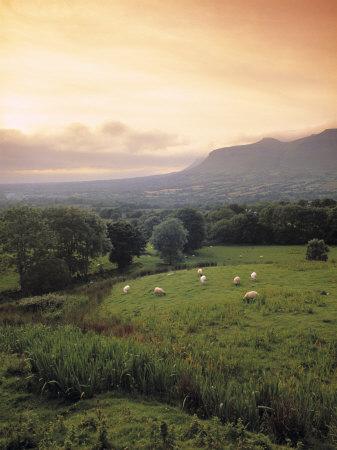 Ben Bulben, Yeats Country, Co. Sligo, Ireland Photographic Print by Doug Pearson