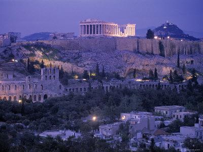 Parthenon, Acropolis, Athens, Greece Photographic Print by Peter Adams