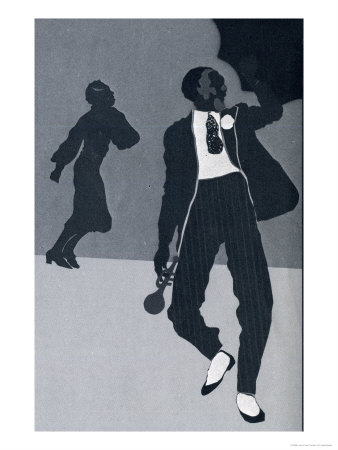 Jazz People Art Print