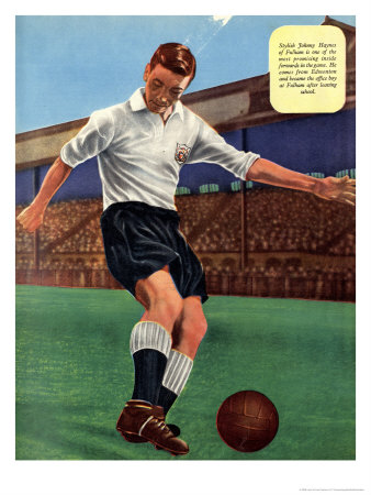 Tommy Hayes Football Illustration Reproduction d'art
